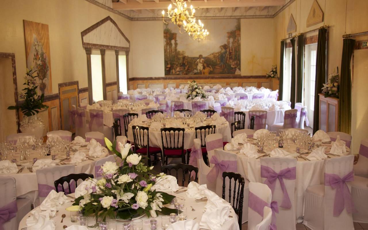 Wedding in a castle in France