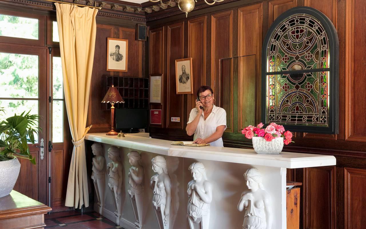 Réception, Sologne hotel, Château les Muids
