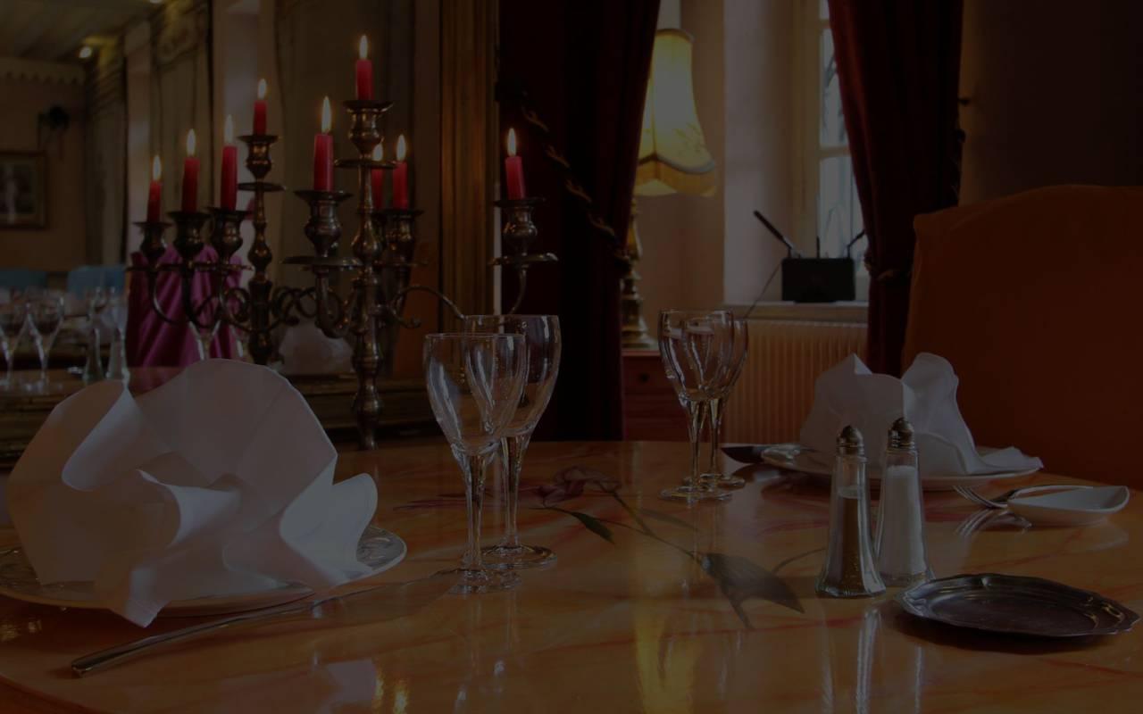 Salle du restaurant l'Espérance