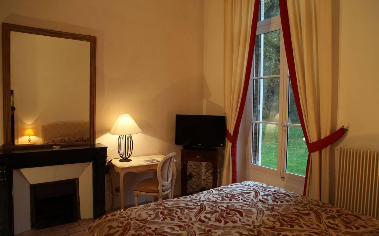 Chambre standard supérieur hotel de charme en sologne, Château les Muids