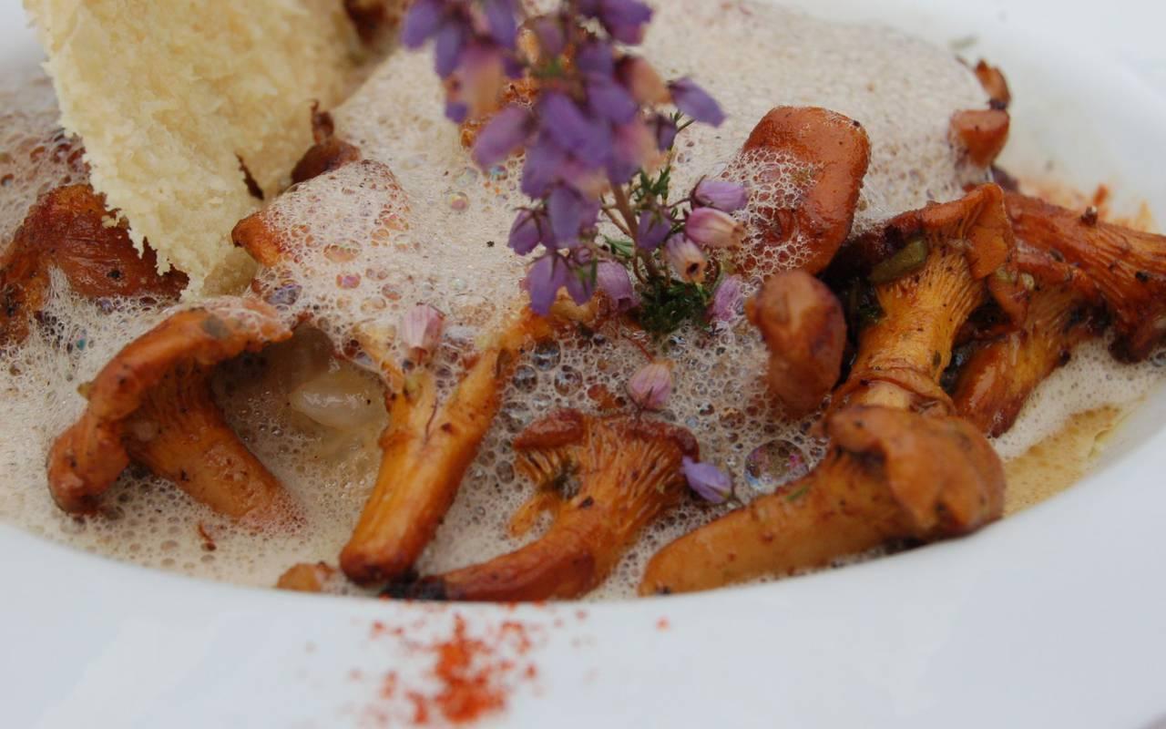 Plat restaurant La Ferté Saint Aubin Le Skottowe