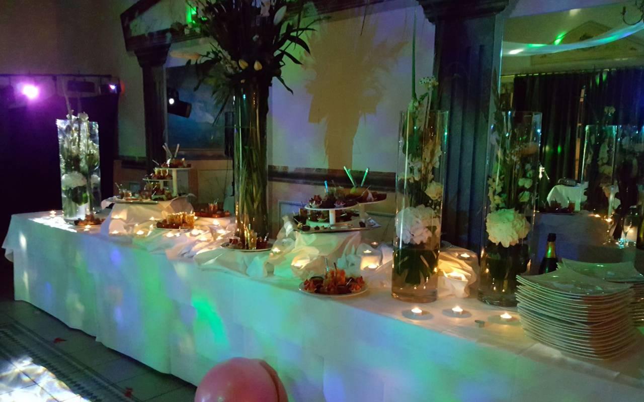 réception de mariage dans le Loiret