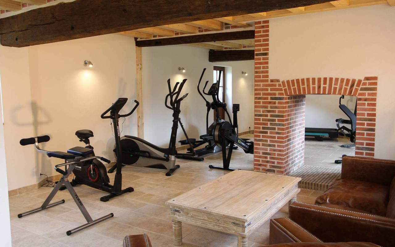 hotel avec salle de fitness en sologne