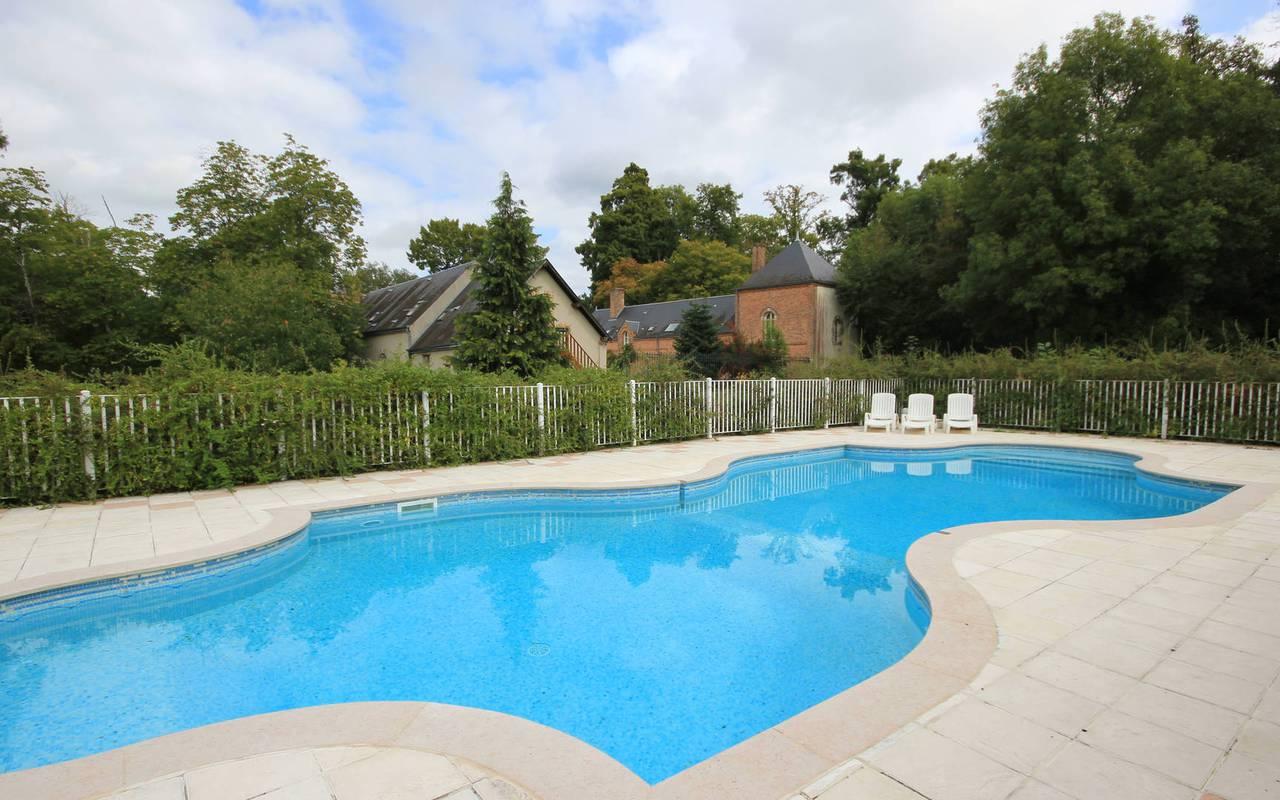 hôtel avec piscine en Solgne