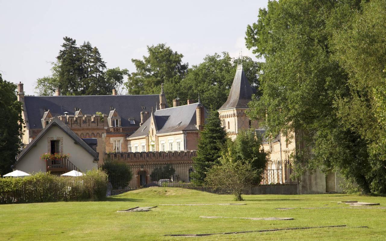 Chateau hotel près d' Orléans