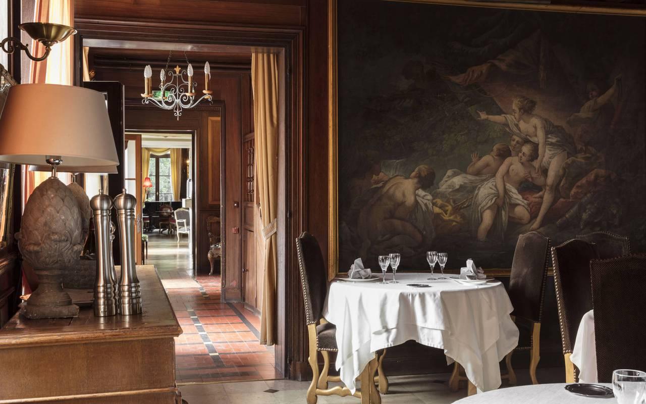 restaurant romantique à la Ferté Saint Aubin