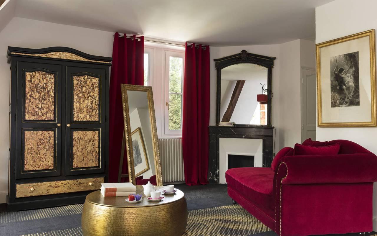 suite d'hôtel de charme en Sologne